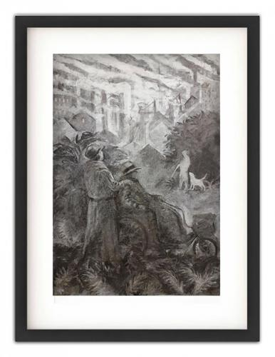 Lasy Chatterley's LoverCharcoal drawing